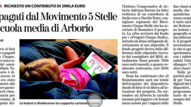 Tablet a 5 stelle nelle scuole