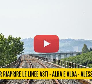 Un viaggio per riaprire le linee Asti – Alba e Alba – Alessandria