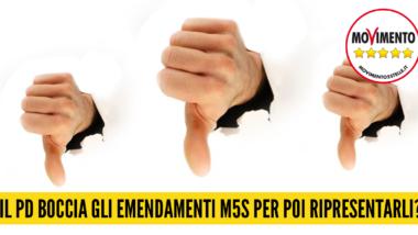 BILANCIO 2016: PD boccia emendamenti M5S per poi ripresentarli?