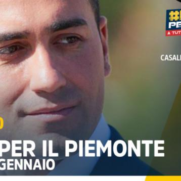 #Rally per l'Italia – Le tappe in Piemonte
