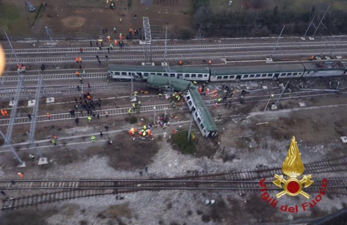 Disastro ferroviario Milano: nuovo video delle vittime soccorse