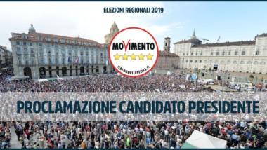 Votazione giovedì 11 ottobre e Proclamazione sabato 13 Candidato Presidente MoVimento 5 Stelle Piemonte