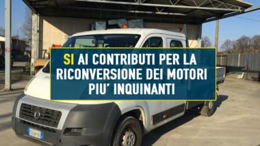 VITTORIA M5S IN REGIONE: LA REGIONE INCENTIVERA' LA TRASFORMAZIONE DEI MOTORI DEI MEZZI PIU' INQUINANTI
