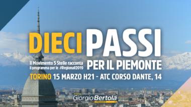 Dieci passi per il Piemonte – Prima Tappa TORINO – La Settimana a 5 Stelle nr. 11