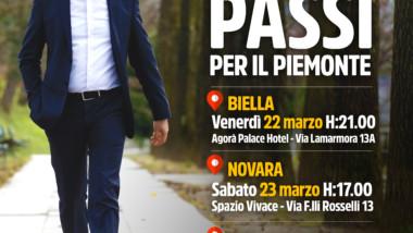Dieci Passi per il Piemonte: le tappe di Biella, Novara e Asti