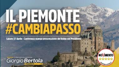 PRESENTAZIONE LISTINO DEL PRESIDENTE DI GIORGIO BERTOLA –LISTE COMPLETE MOVIMENTO 5 STELLE TUTTE LE PROVINC