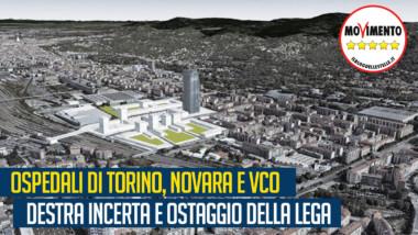 """Sacco (M5S): """"Ospedali di Torino, Novara e VCO: Icardi ostaggio delle Lega. Le indecisioni della giunta fanno retrocedere il Piemonte"""""""