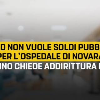 Sacco, Solo a Novara il PD non vuole fondi pubblici per costruire l'ospedale. A Torino chiede addirittura il MES!
