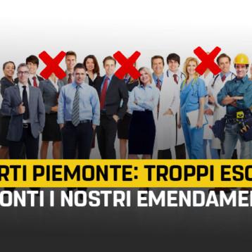 Riparti Piemonte: troppe categorie escluse dai bonus. La Giunta non ha spiegato i criteri adottati, pronti i nostri emendamenti.