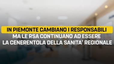 """Sacco, Bertola, Frediani """"In Piemonte cambiano i responsabili ma le RSA continuano ad essere la cenerentola della Sanità regionale"""""""