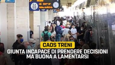 """Trasporti, Sacco – Martinetti (M5S): """"Caos treni conseguenza di una giunta incapace di prendere decisioni ma buona solo a lamentarsi"""""""
