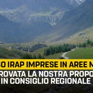 """Montagna, Frediani (M5S): """"Rimborso IRAP per le imprese in aree montane, approvata la nostra proposta in Consiglio Regionale"""""""