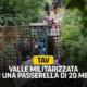 """TAV, Frediani (M5S): """"Valle militarizzata per una passerella di 20 metri, interrogazione in regione sull'osservanza delle prescrizioni"""""""
