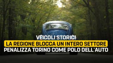"""Martinetti – Fornari (M5S): """"Veicoli storici, la Regione blocca un intero settore e penalizza Torino come polo dell'auto. Ennesima giravolta di una Giunta subalterna alla Lombardia"""""""