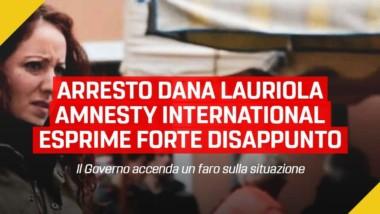Frediani (M5S): Arresto Dana Lauriola, Amesty International esprime forte disappunto su quanto sta avvenendo in Valsusa. Ora il governo accenda un faro sulla situazione