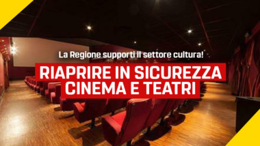 Frediani (M5S): Chiusura di cinema e teatri, scelta da rivedere. La Regione tenda una mano al settore della cultura messo in ginocchio dall'emergenza sanitaria