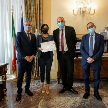 """Martinetti: abbiamo portato a Roma il progetto Made in Alba """"Digitalizzazione Pratiche Urbanistiche"""""""