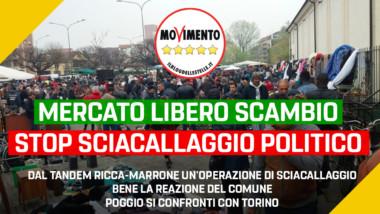 """Libero scambio, Disabato (M5S): """"Dal tandem Ricca-Marrone un'operazione di sciacallaggio. Bene la reazione del Comune, Poggio si confronti con Torino"""""""