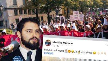 A più di 40 anni dall'approvazione della 194 è assurdo che si debba ancora scendere in piazza per difendere i diritti delle donne. Indecente post di Marrone (FdI).