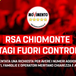 """Frediani (M5S): """"RSA Chiomonte, contagi fuori controllo? Ho presentato una richiesta per avere i numeri aggiornati. Ospiti, famiglie ed operatori meritano chiarezza ed aiuto"""""""