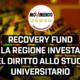 """Disabato (M5S): """"Recovery fund, nessun progetto regionale per il diritto allo studio universitario. La giunta lavori subito ad un piano ascoltando gli studenti"""""""
