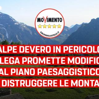 """Alpe Devero, Disabato (M5S): """"Inaccettabile che la Lega prometta modifiche al Piano Paesaggistico Regionale per distruggere le montagne"""""""
