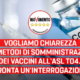 """Sanità, Sacco (M5S): """"Vogliamo chiarezza sui metodi di somministrazione dei vaccini all'ASL TO4. Pronta un'interrogazione, Icardi risponda"""""""