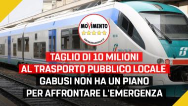 """Trasporti, Martinetti – Sacco (M5S): """"Taglio di 10 milioni al trasporto pubblico locale. Gabusi non ha un piano per affrontare l'emergenza"""""""