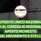 """Nucleare, Gruppo M5S: """"Deposito unico nazionale, via libera al Consiglio Regionale aperto come richiesto dal Movimento 5 Stelle"""""""